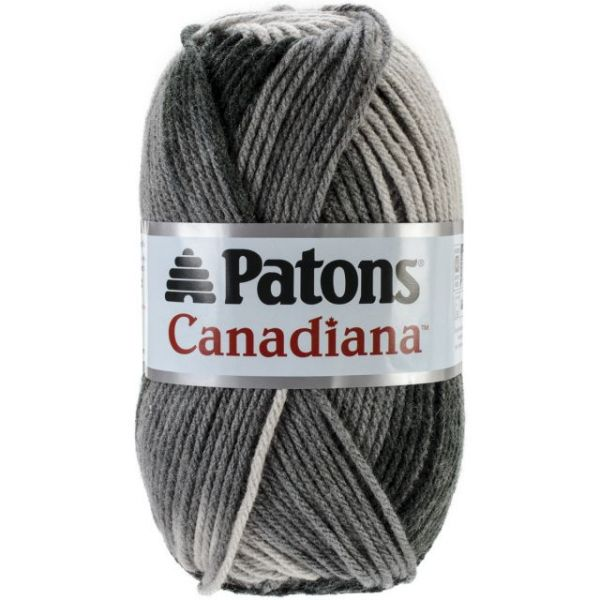 Patons Canadiana Yarn - Gray