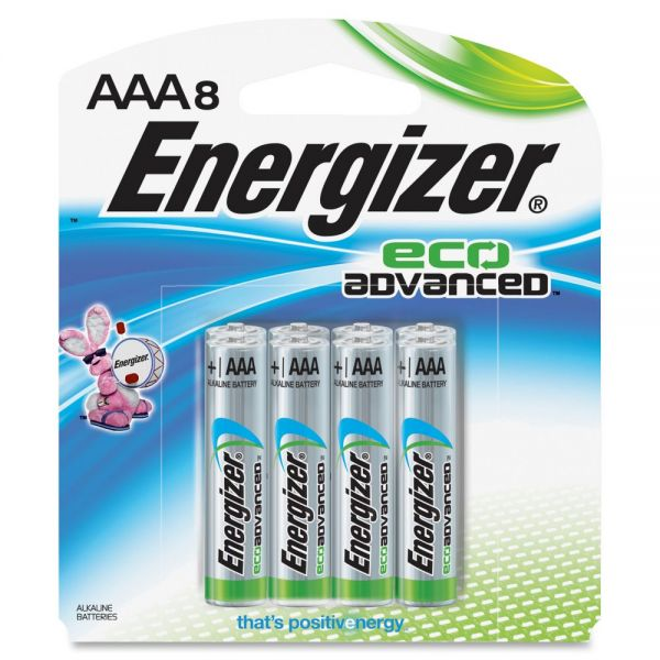 Energizer EcoAdvanced AAA Batteries