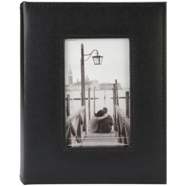 "Sewn Frame Photo Album 7""X9"" 200 Pockets"