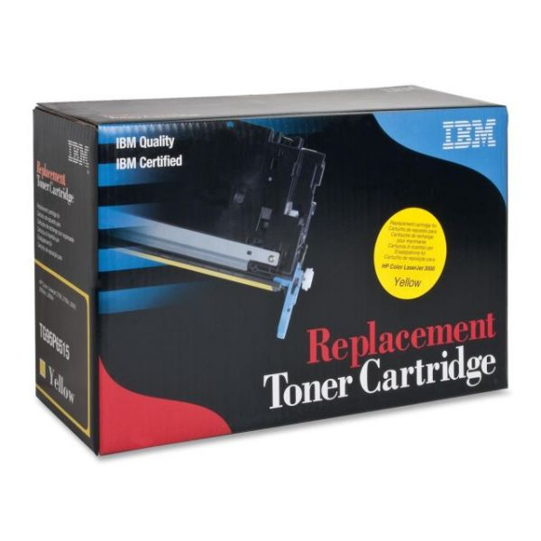 IBM Remanufactured HP Q7562A Yellow Toner Cartridge