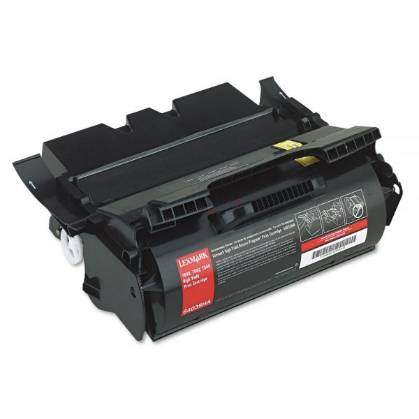 Lexmark 64035HA Black High Yield Toner Cartridge