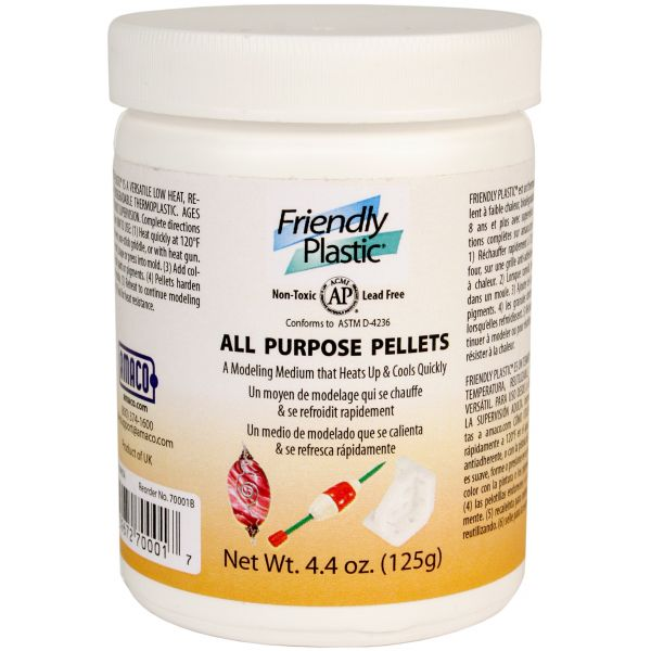 Friendly Plastic Pellets 4.4oz