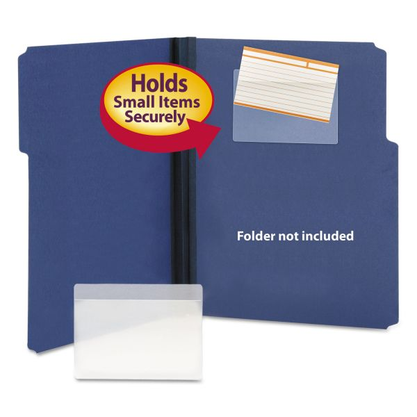 Smead Self-Adhesive Vinyl Pockets