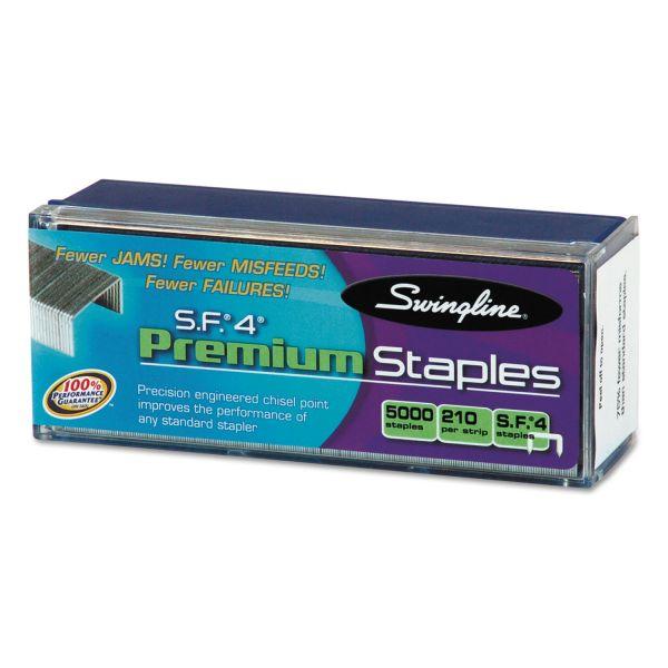 "Swingline S.F.4 All Premium 1/4"" Staples"