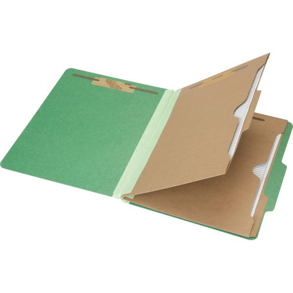 SKILCRAFT 2-Divider Pressboard Classification Folders