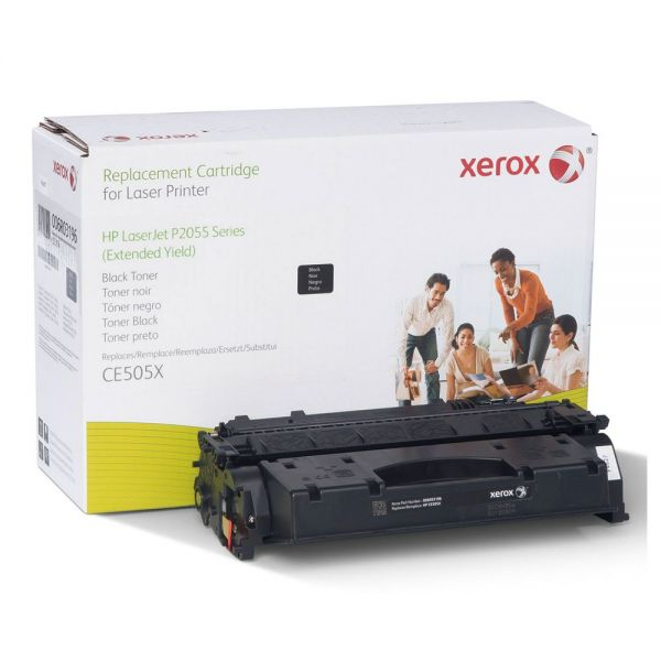 Xerox Remanufactured HP CE505X Extended Yield Toner Cartridge
