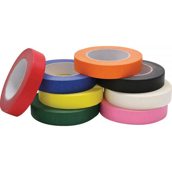 "Chenille Kraft Colored 1"" Masking Tape"