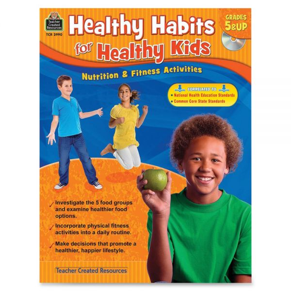 Teacher Created Resources Gr 5up Healthy Habits Workbk Education Printed/Electronic Book