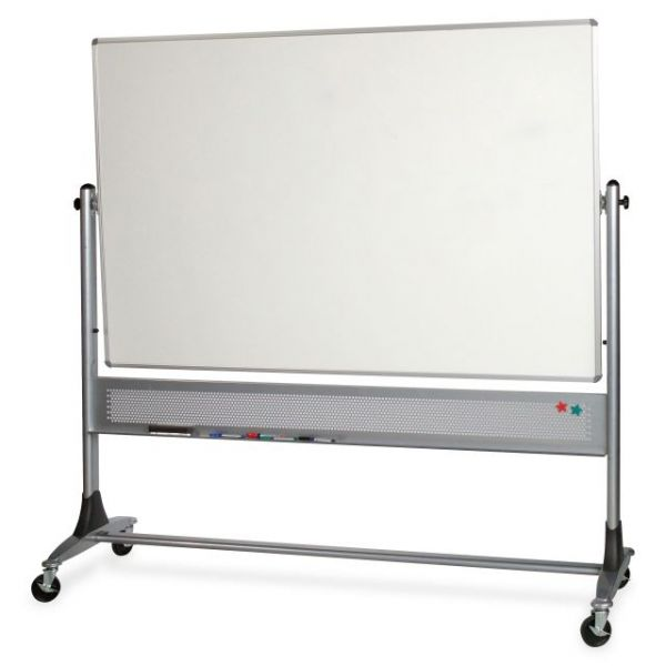 Balt Platinum Double-Sided Dry Erase/Cork Mobile Easel