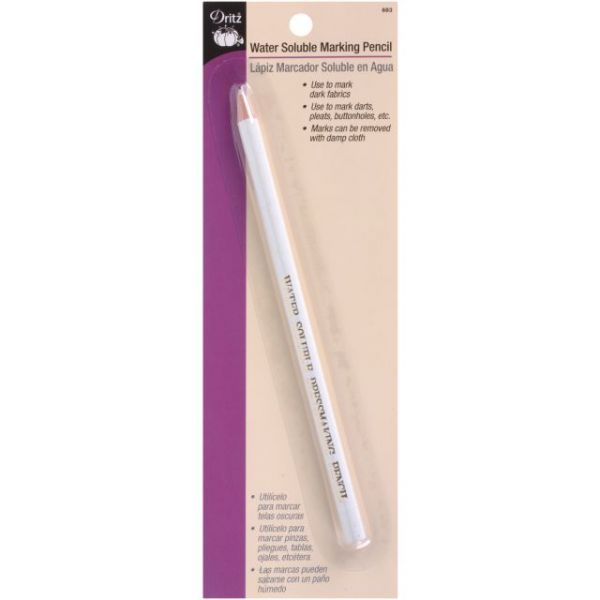 Water-Soluble Marking Pencil