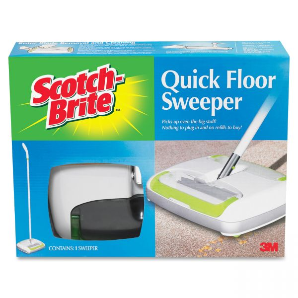 Scotch-Brite -Brite Quick Floor Sweeper