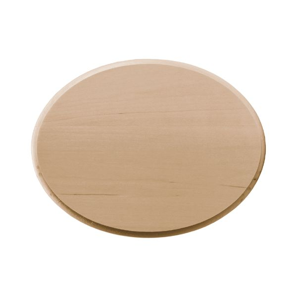 Basswood Oval Plaque
