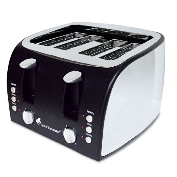Coffee Pro Adjustable Slot Multi-Function Toaster