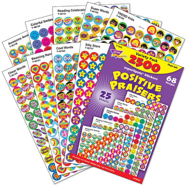 Trend Positive Praisers superSpots Stickers Variety Pack