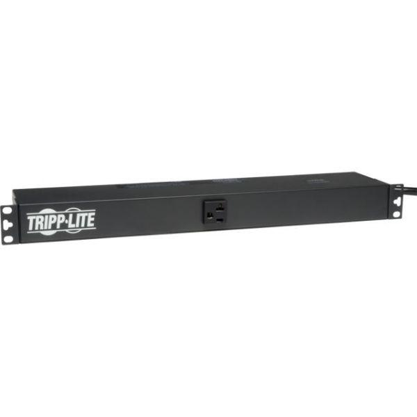 Tripp Lite PDU Basic 120V 20A 13 5-15R 15ft Cord 1U RM