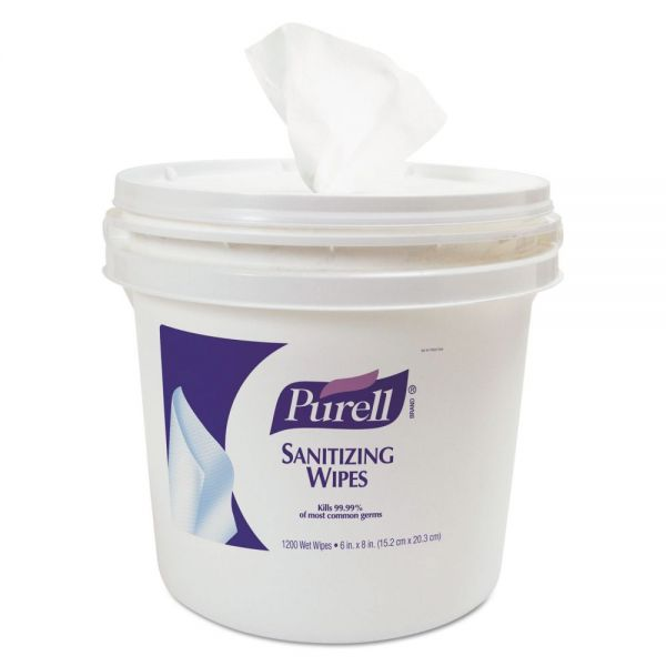 PURELL Sanitizing Wipes Bucket Dispenser