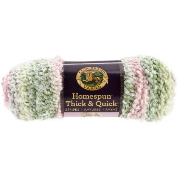 Lion Brand Homespun Thick & Quick Yarn - Spring Stripes
