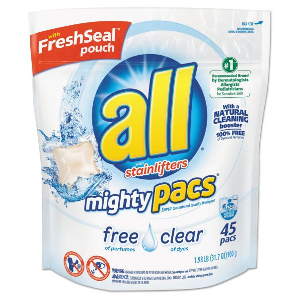 All Free & Clear Laundry Detergent Mighty Pacs