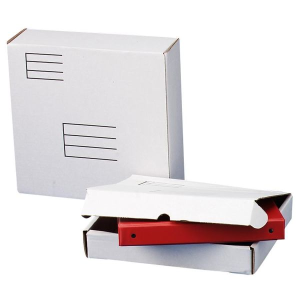 Quality Park Ring Binder Mailer/Shipping Boxes, 12 x 12 1/4 x 3 7/8, White