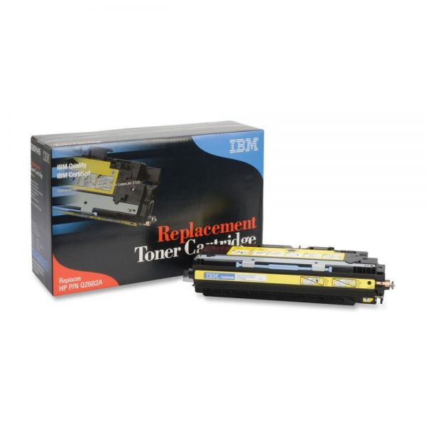 IBM Remanufactured HP Q2682A Yellow Toner Cartridge