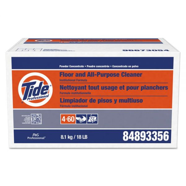 Tide Professional Floor and All-Purpose Cleaner, 18lb Box