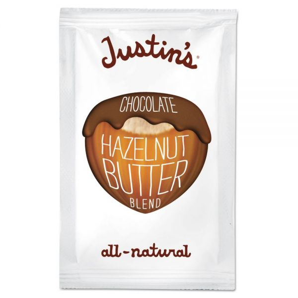Justin's All-Natural Chocolate Almond/Hazelnut Butter Blend Packs