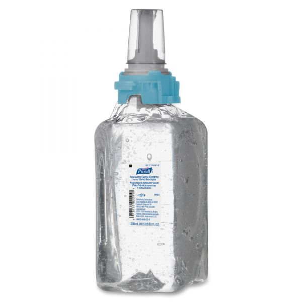 Purell Advanced Green Certified Instant Gel Hand Sanitizer Refill