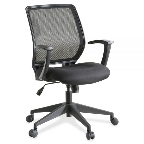 Lorell Executive Mid-back Mesh Office Chair