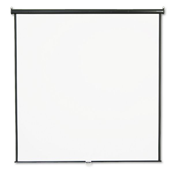 "Quartet Manual Projection Screen - 118.8"" - 1:1 - Wall Mount, Ceiling Mount"