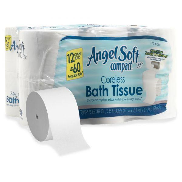 Angel Soft Coreless Toilet Paper