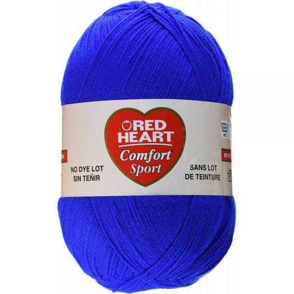 Red Heart Comfort Sport Yarn - Marine Blue