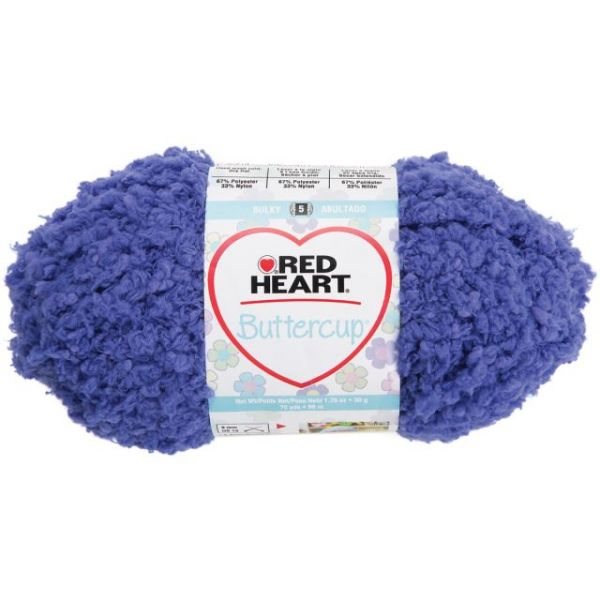 Red Heart Buttercup Yarn - Blue Moon