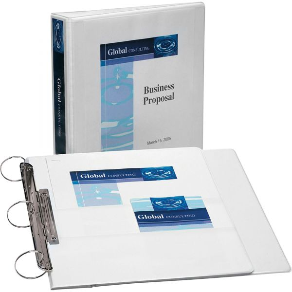 """Avery Flip Back 360 Reference 1-1/2"""" 3-Ring View Binder"""