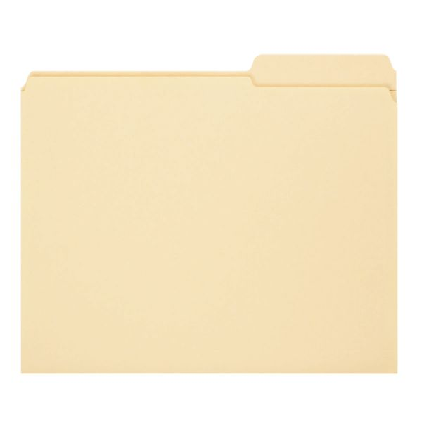 Smead Recycled Manila File Folders