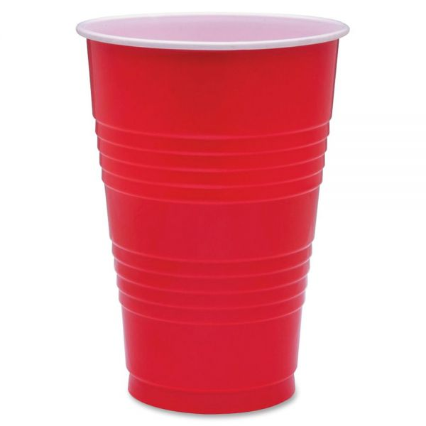 Genuine Joe 16 oz Plastic Party Cups