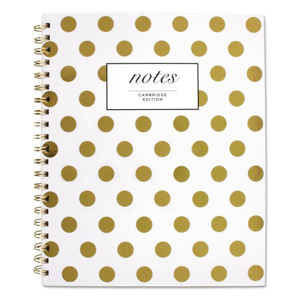 Cambridge Gold Dots Hardcover Notebook