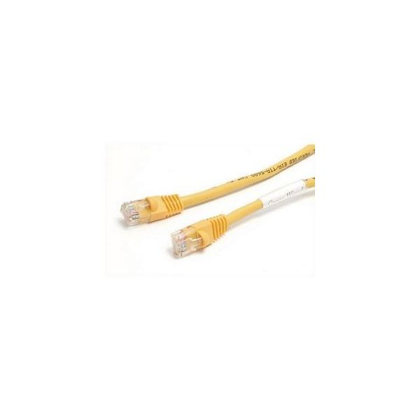 StarTech.com 6 ft Yellow Molded Cat5e UTP Patch Cable