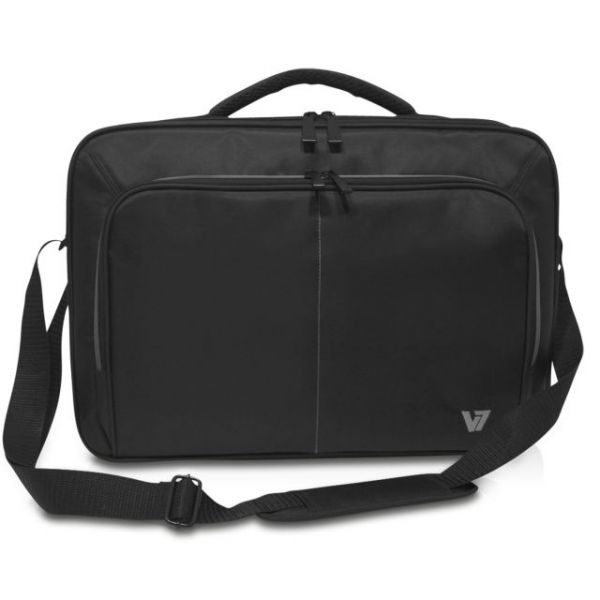 "V7 Vantage II CCV21-9N Carrying Case for 16"" Notebook, Smartphone, Pen, Key, Business Card"
