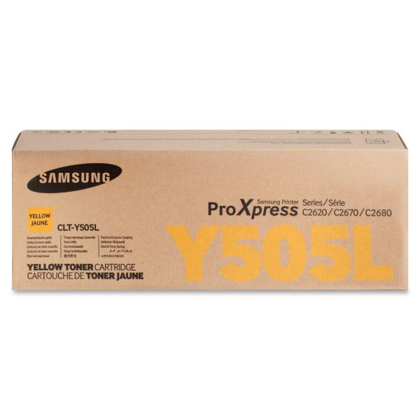 Samsung CLTY505L Yellow Toner Cartridge