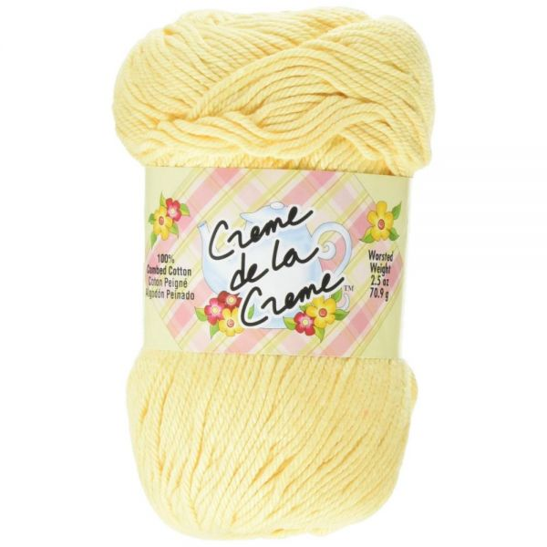 Creme de la Creme Yarn - Golden Yellow