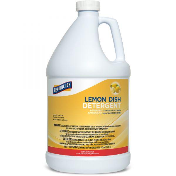 Genuine Joe Liquid Lemon Dish Soap