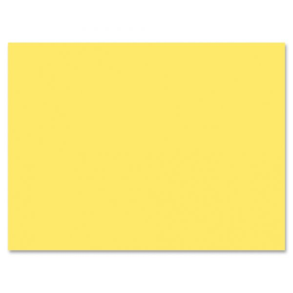 Pacon Yellow Construction Paper