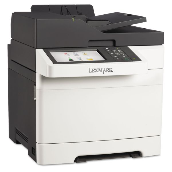 Lexmark CX510de Multifunction Color Laser Printer, Copy/Fax/Print/Scan