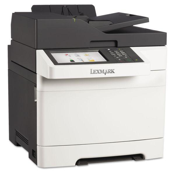 Lexmark CX510de Multifunction Color Laser Printer, Copy/Fax/Print/Scan