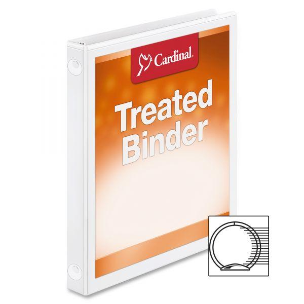 """Cardinal ClearVue 1/2"""" 3-Ring View Binder"""
