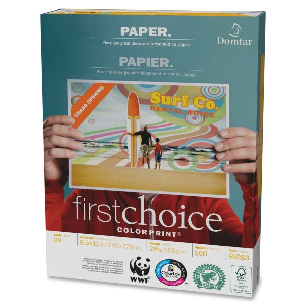 First Choice White Copy Paper