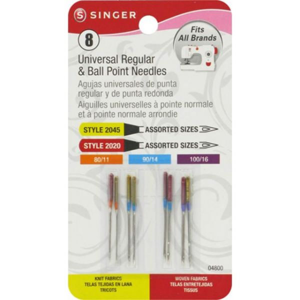 Universal Regular & Ball Point Machine Needles