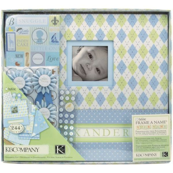 "Post Bound Scrapbook Kit Boxed 12""X12"""