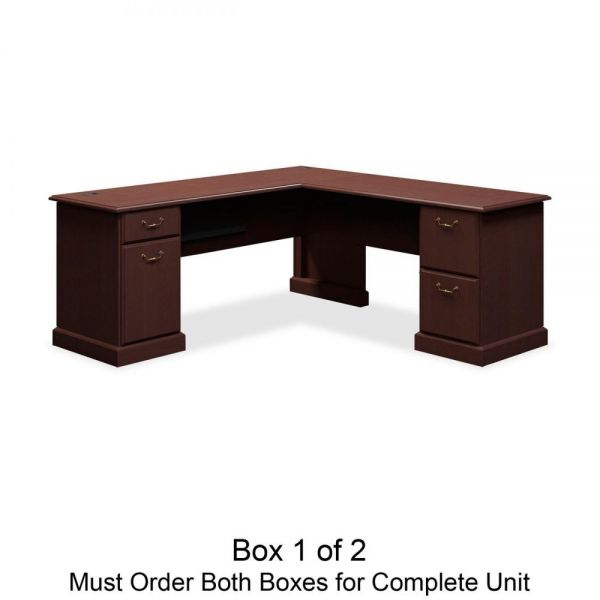bbf Syndicate L-Shaped Office Desk *Box 1 of 2
