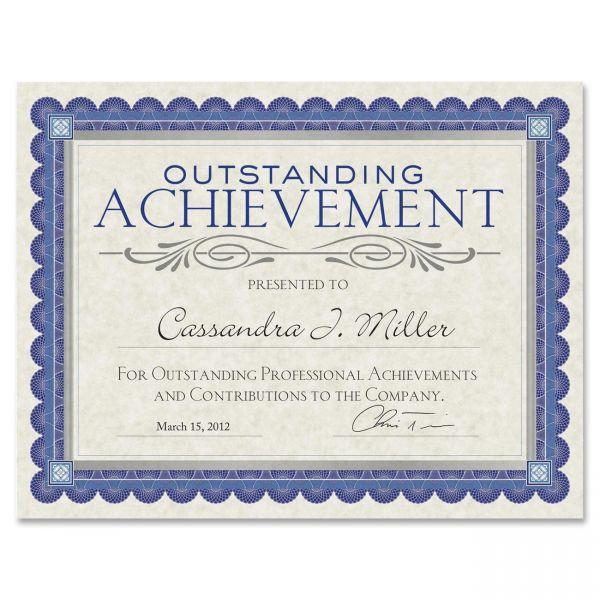 Southworth Foil Enhanced Certificates